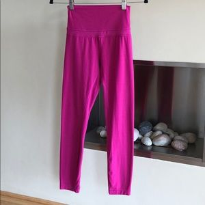 Lululemon Align yoga leggings Raspberry 4 25 pants